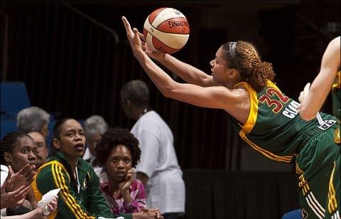 2012 Alysha Clark WNBA
